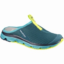 Salomon RX SLIDE 3.0 W - Scarpe Slip On Donna - Blu - KABMRL87